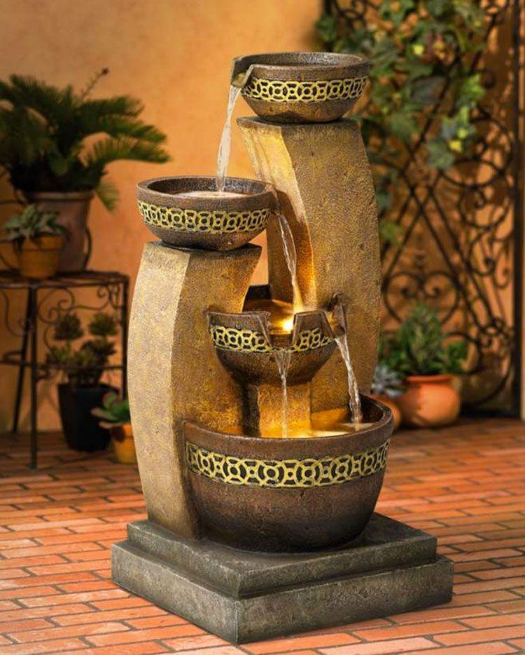 Fontana zen da giardino n 7 arredamento d 39 esterni for Giardini zen da esterno