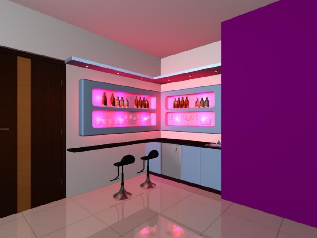 Modern Home Bar Design Contemporary Bar Counter With Catchy Look ...
