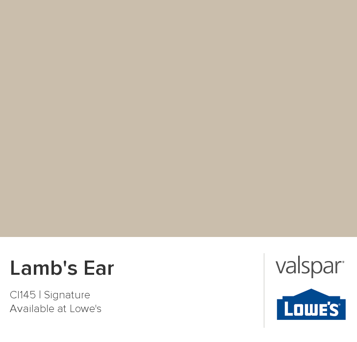 Lamb S Ear From Valspar Used In J Yamaki Dr Looks More Putty Or Greige Person Very Nice