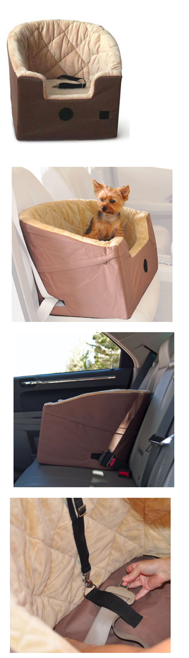 Car seats and barriers bucket booster pet seat dog car seat