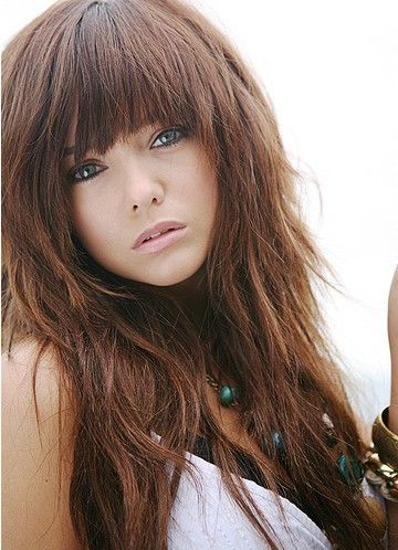 25 Quick Hairstyles For Long Hair | Quick hairstyles, Bangs and ...