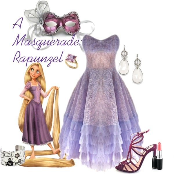 """""""A Masquerade: Rapunzel"""" by helsingmusique on Polyvore"""