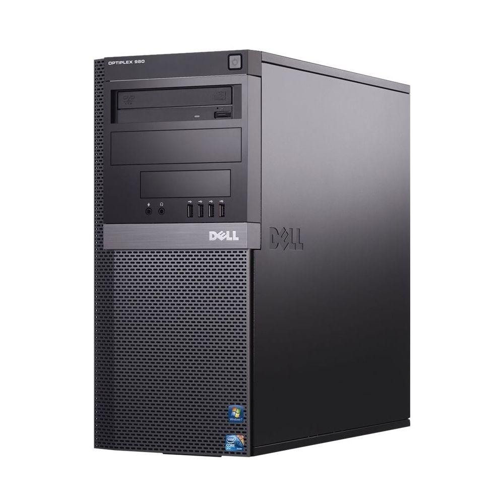 Dell - Refurbished OptiPlex Desktop - Intel Core i5 - 4GB Memory - 500GB Hard Drive - Black/silver