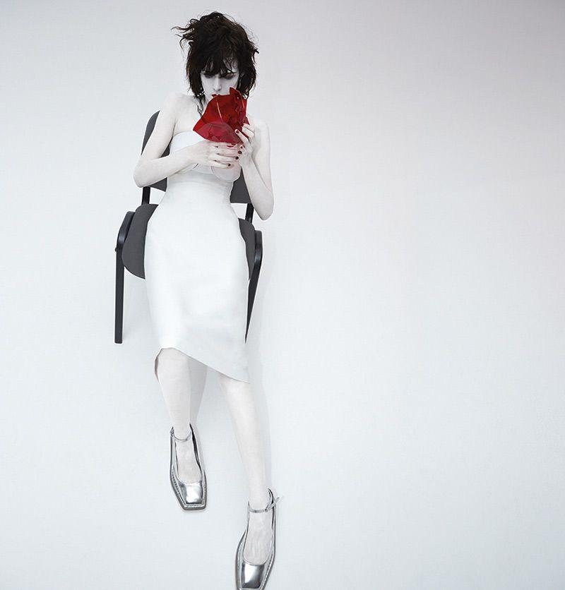 Neo Goth Fashion Ads : Acne Spring 2014