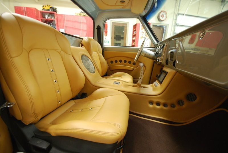 Pardon Our Interruption Custom Car Interior Truck Interior Chevy C10