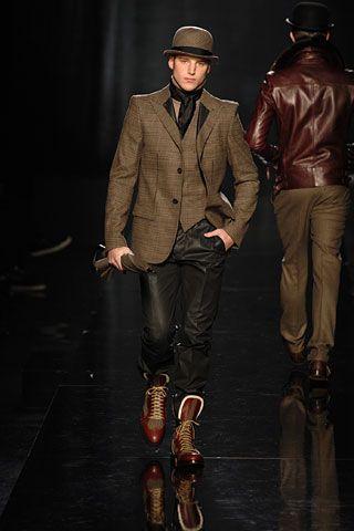Love love his shoes!!! Jean Paul Gaultier.