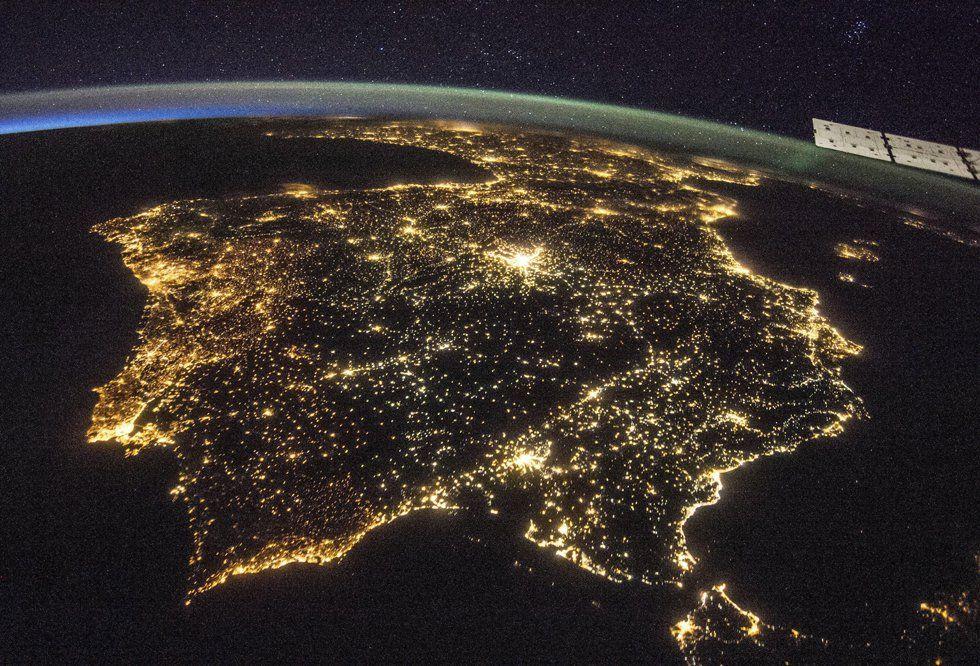 península iberica