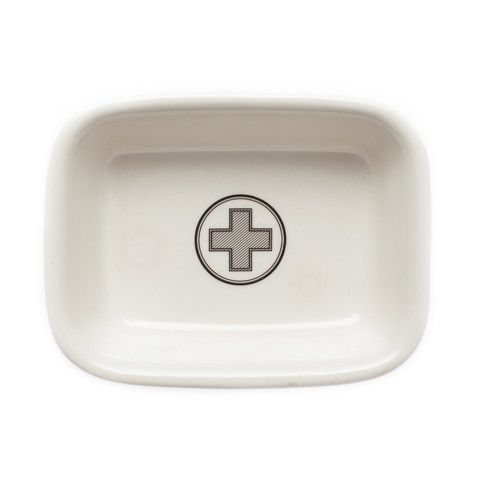 Apothecary Soap Dish   Izola. The perfect cure to not having a place for your soap.
