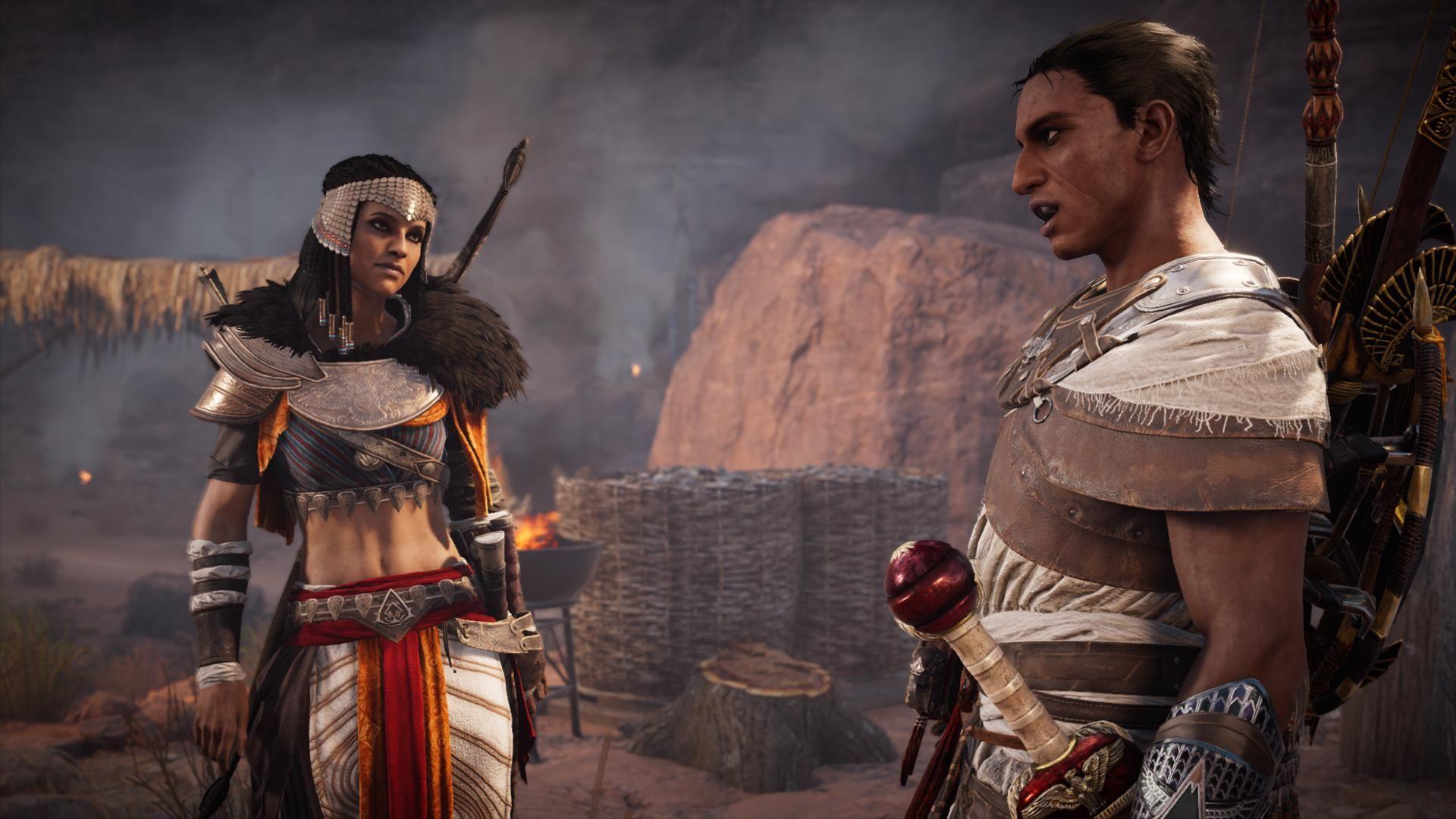 Aya Concept Art Assassins Creed