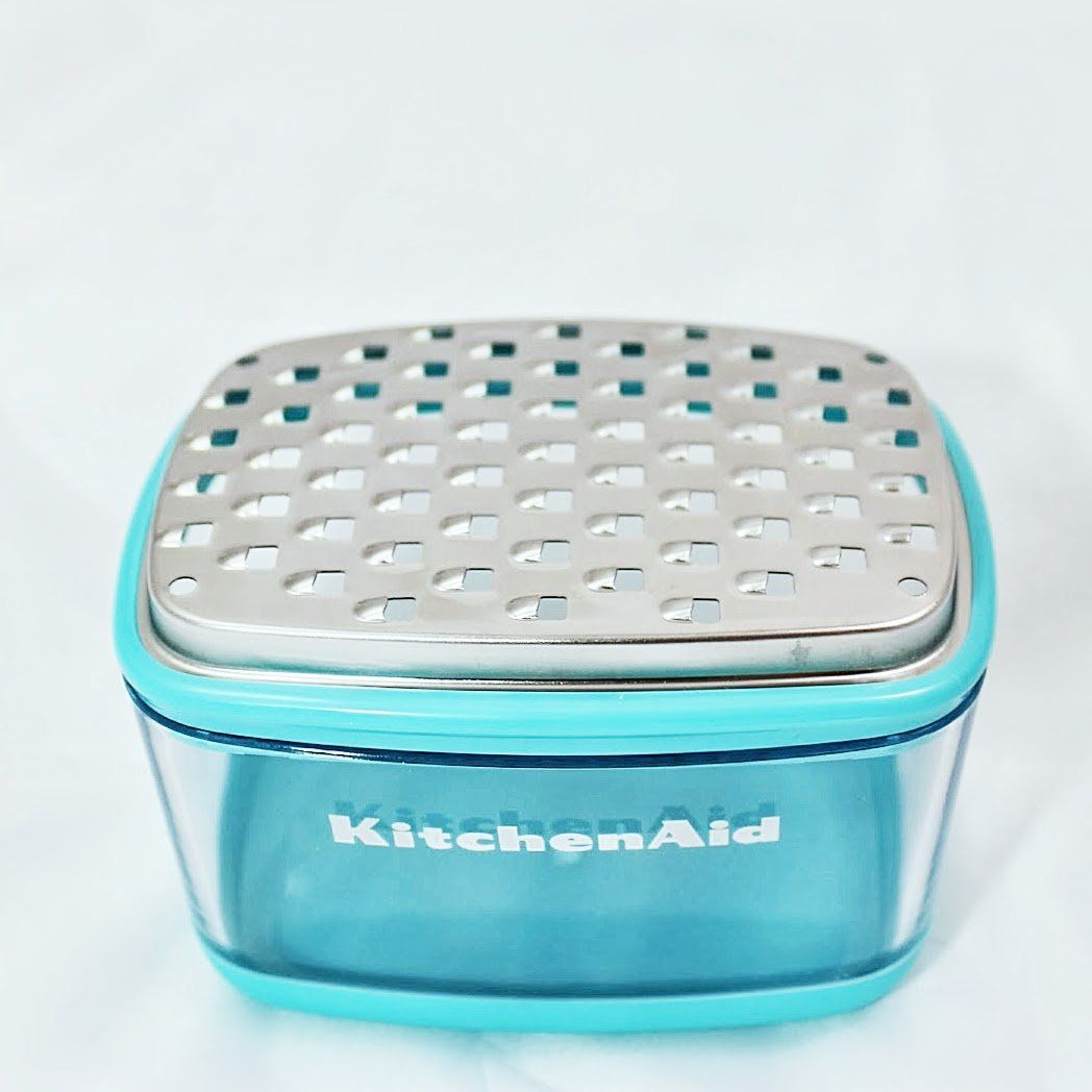 Amazon.com: KitchenAid Gourmet Cup Grater, Cheese Grater, Stainless ...