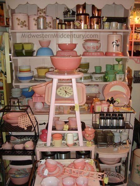 Mid Century Modern Kitchen Treasures