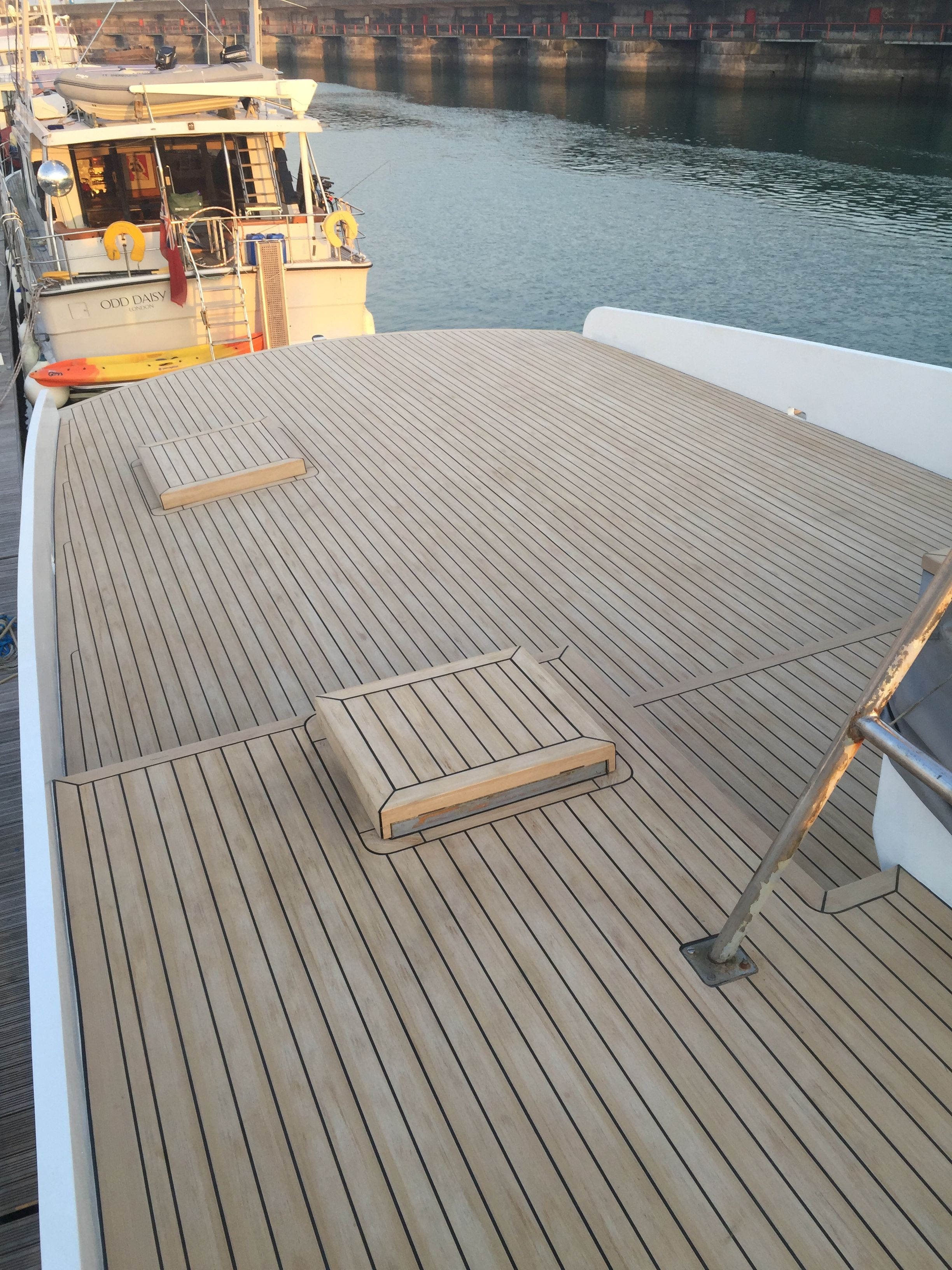 Waterproof Board For Boats Cost Of Synthetic Teak Decking