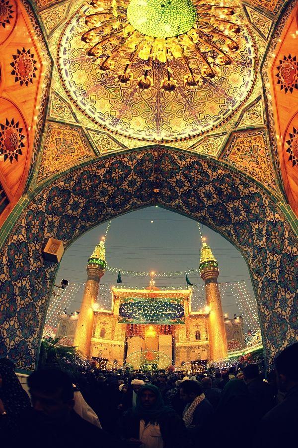 shrine of imam ali ibn abi talib as in najaf iraq