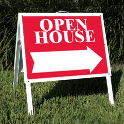 Open House Sign Rules Are Frequently Disobeyed Realty Times Open House Signs Open House Open House Real Estate