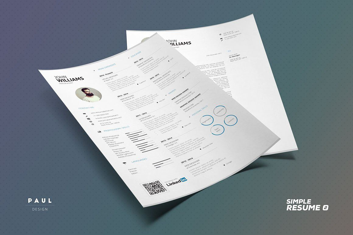 Resume Cv Simple Collection N2