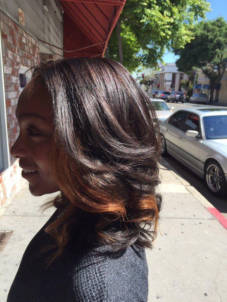 Brittany Nicole Hair Studio Hayward Ca United States Weave Cut