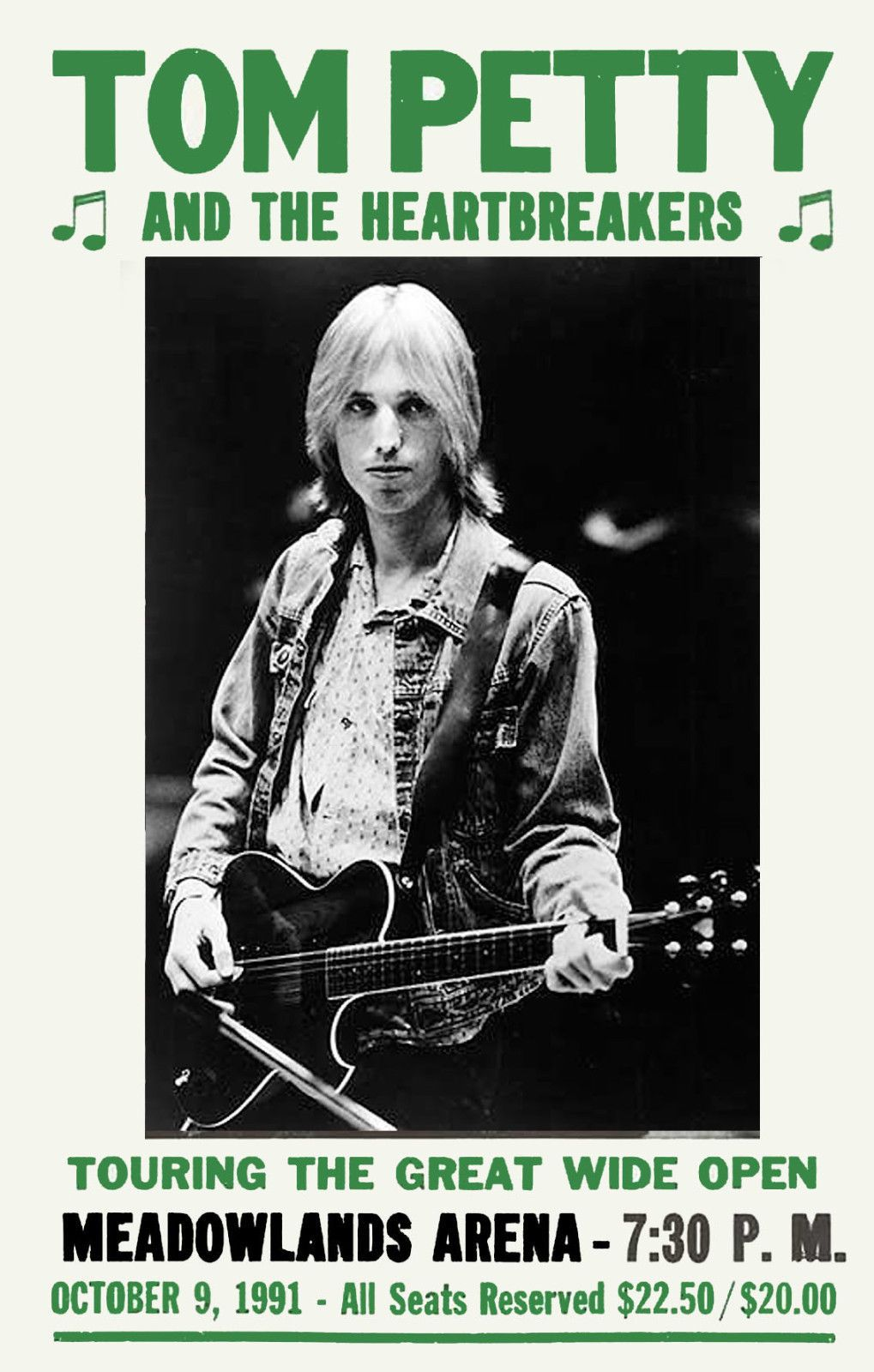 pin by greg simpson on from the wayback machine concert posters tom petty 1990s music. Black Bedroom Furniture Sets. Home Design Ideas