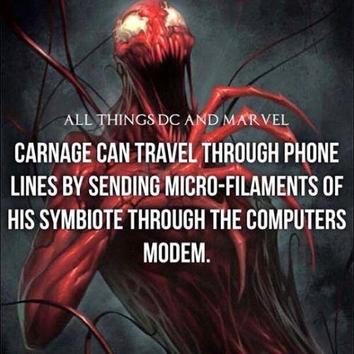 Comic logic. #spiderman #carnage #marvel #allthingsdcmarvel M....