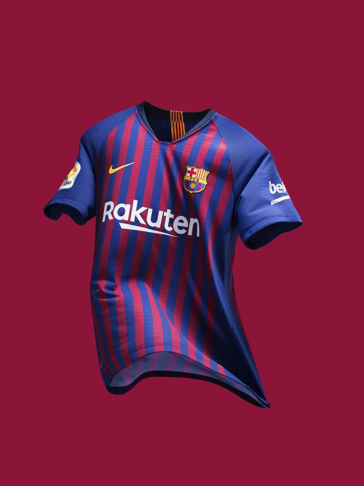 FC Barcelona s 2018-19 Home Kit Unites the City s 10 Districts e7733aadd3542