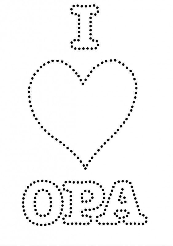 I Love Opa 65ste Verjaardag Opa Verjaardag Verjaardag