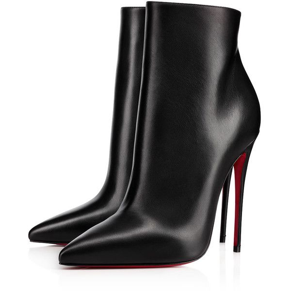 sale retailer a7ea0 9d19b So Kate Booty 120 Black Leather - Women Shoes - Christian ...