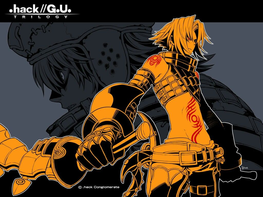 Haseo. Dot hack, Anime, Hacks
