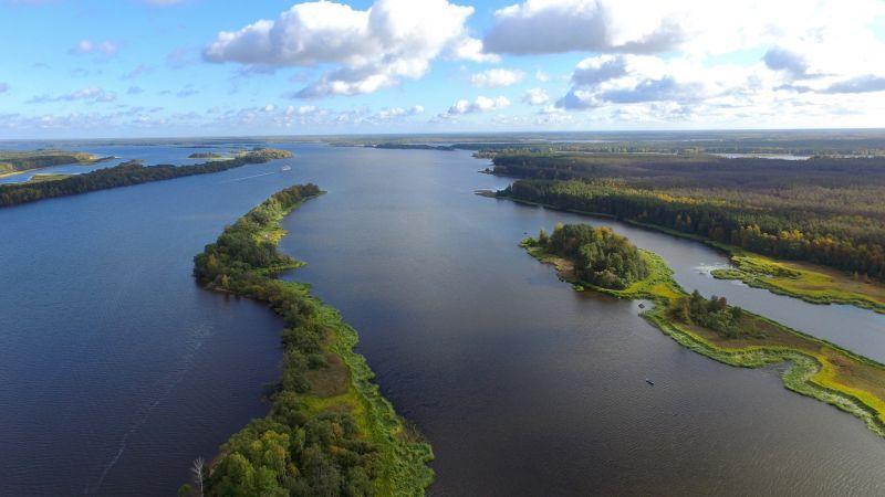 Волга между Кимрами и Калязиным.  Выходные на воде.