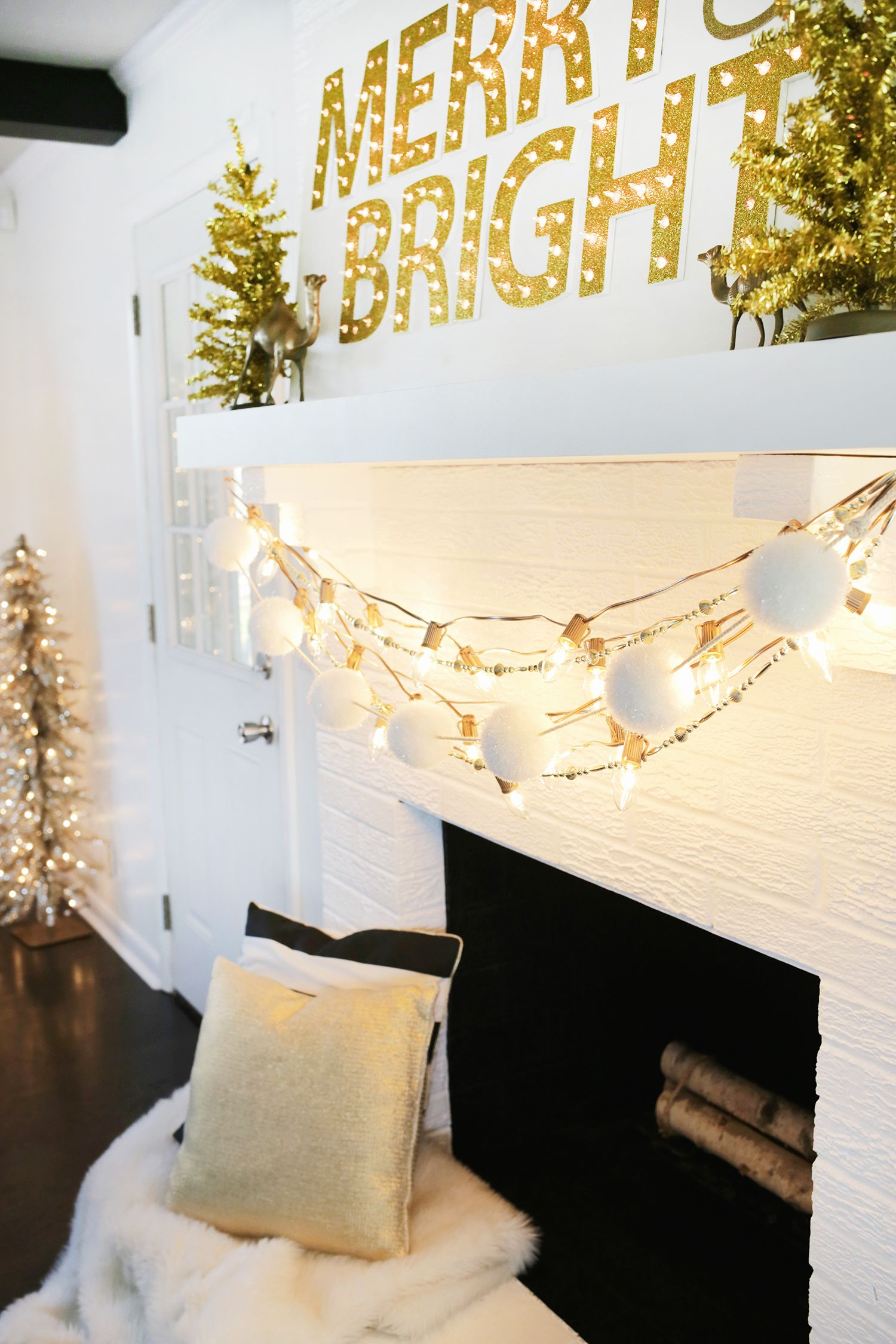 Try This: Painted Christmas Lights   Christmas Ideas FurnishMyWay ...