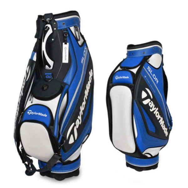 df2f1f8e66fb TaylorMade TCB SLDR13 Caddie Golf Bag Club Bag Backpack 6-Divided Blue  N23969  TaylorMade