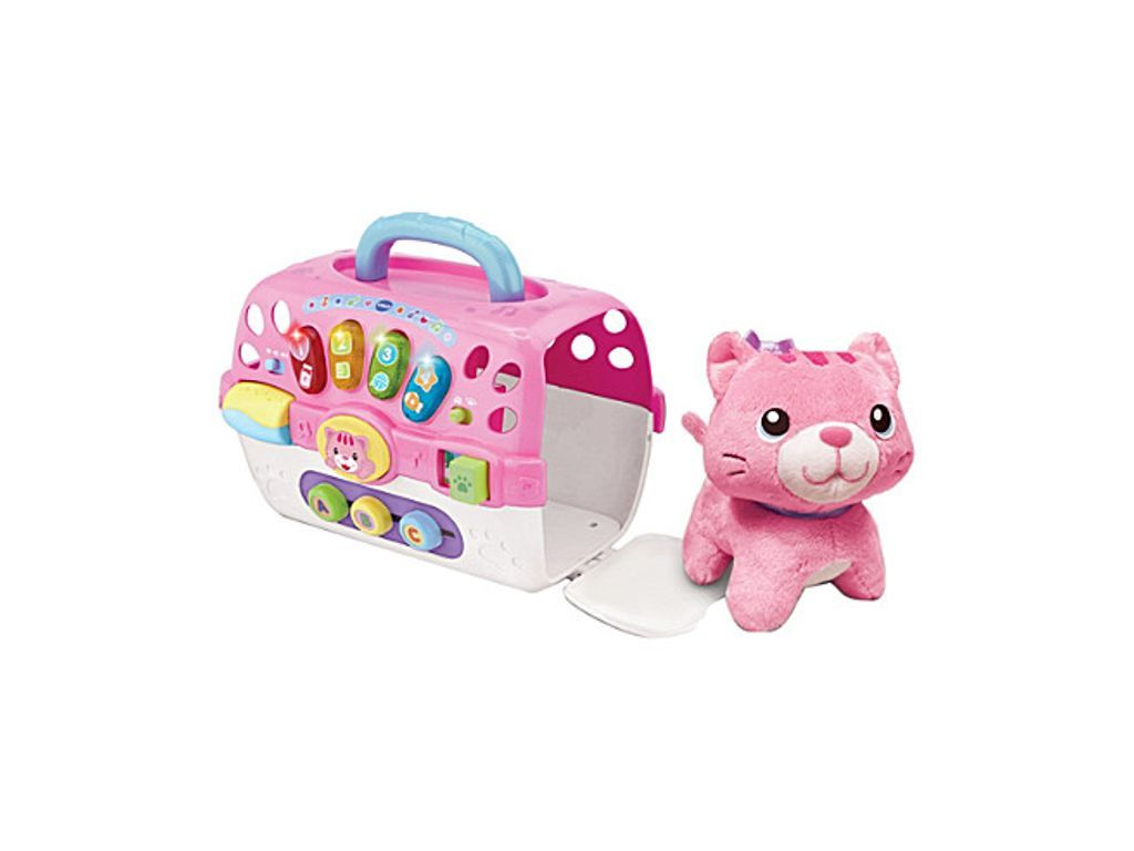 Vtech Cosy Kitten Carrier Soft Toy And Carry Case Vtech Baby Early Learning Toys Baby Musical Toys