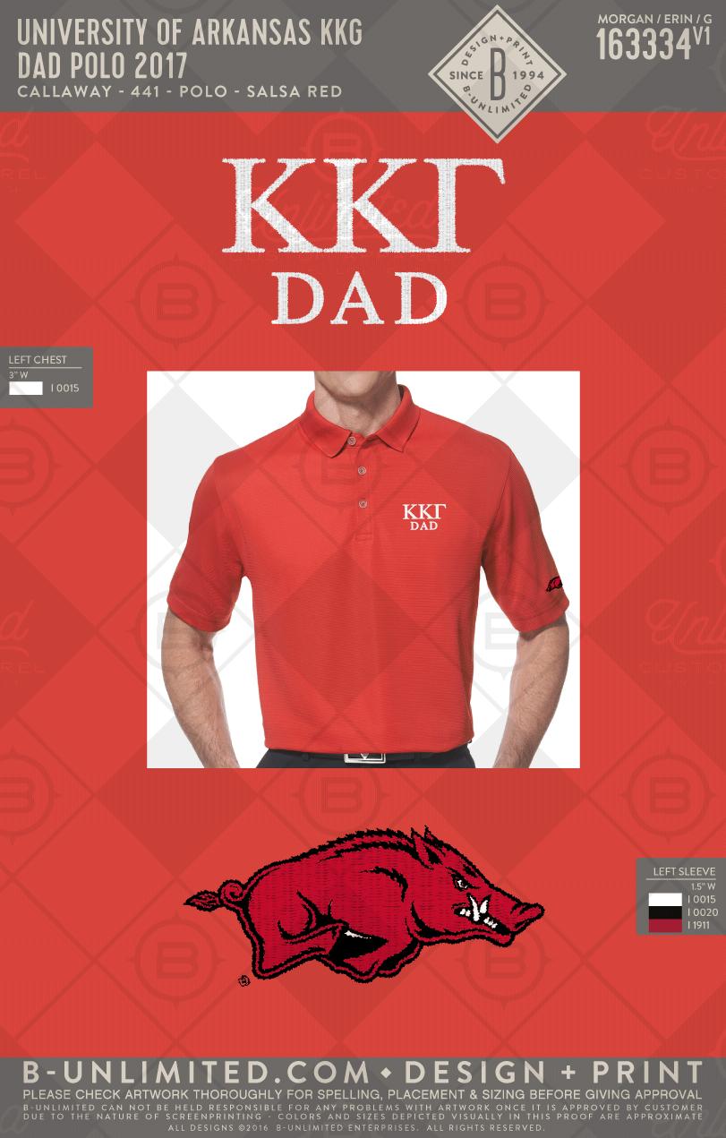 136e6c34fee6 Kappa Kappa Gamma Dad's Polo #BUonYOU #greek #greektshirts #greekshirts  #sorority #kappakappagamma #dad #polo #razorback