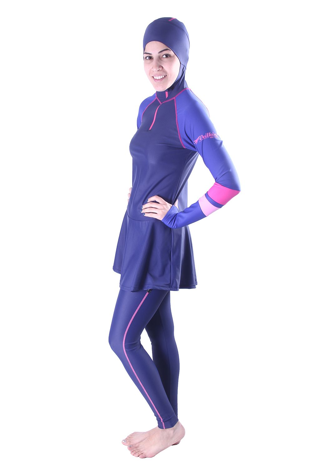 d61b015977c Modest Swimwear veilkini burkini Islamic Swimwear for Women, Muslimah  Swimsuit, Islamic Swimsuits, Hijab Swimming Suits, Veilkini  www.veilkini.com #veilkini ...
