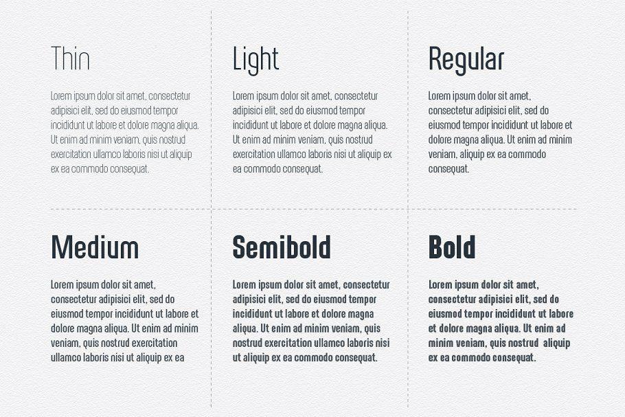 Alterhard Condensed Strict Font Web Design Font Bundles Typography