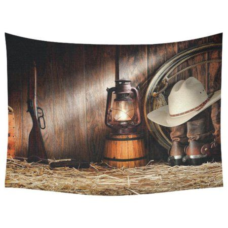 PHFZK American West Rodeo Cowboy Home Decor Wall Art, Western Decor