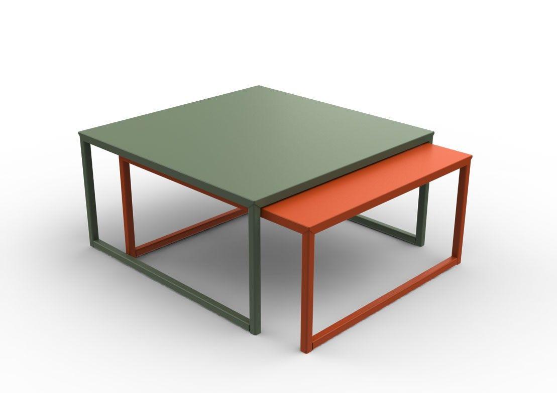 Table Basse Coulissante Tip Top De Matiere Grise Table Basse Decoration Originale Decoration