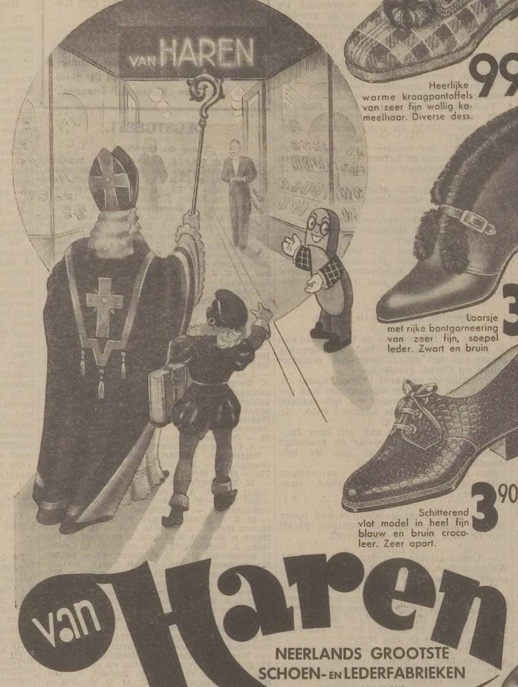 8398f096f06663 Advertentie 1939 | oude Sinterklaas-boeken en prenten - Movie posters