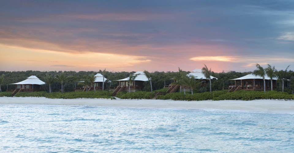 Situé sur l'île privée de 430 hectares au cœur de Bahamas, Yal Island est un hôtel de luxe de charme.