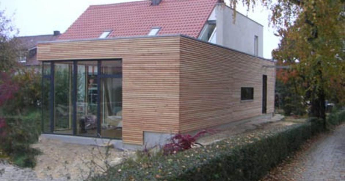 Einfamilienhaus BioAnbau Mehr Wohnfläche DAS HAUS