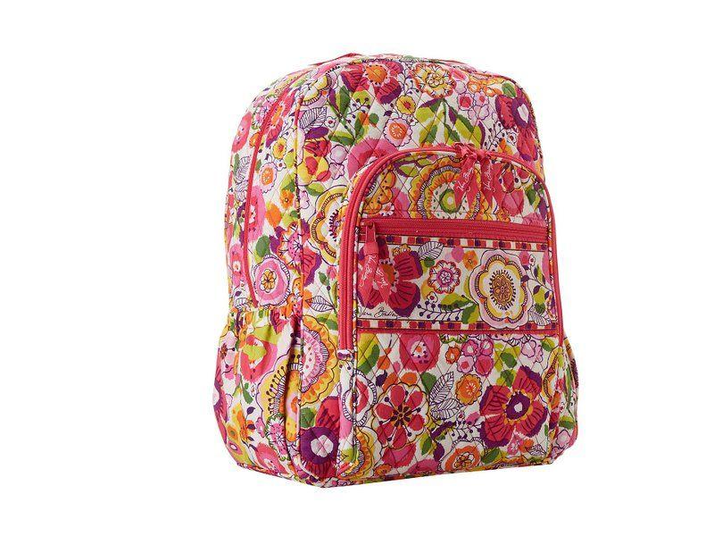 Vera Bradley Campus Backpack (Canterberry Cobalt)