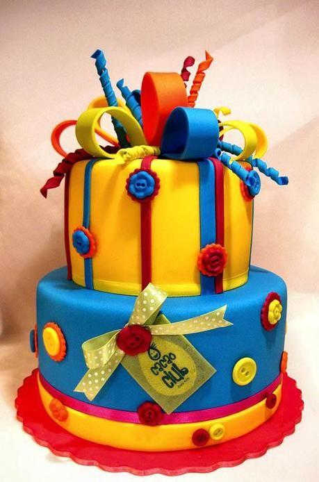 Cake-Design - Decorare le torte in modo artistico #webtemplate - See ...