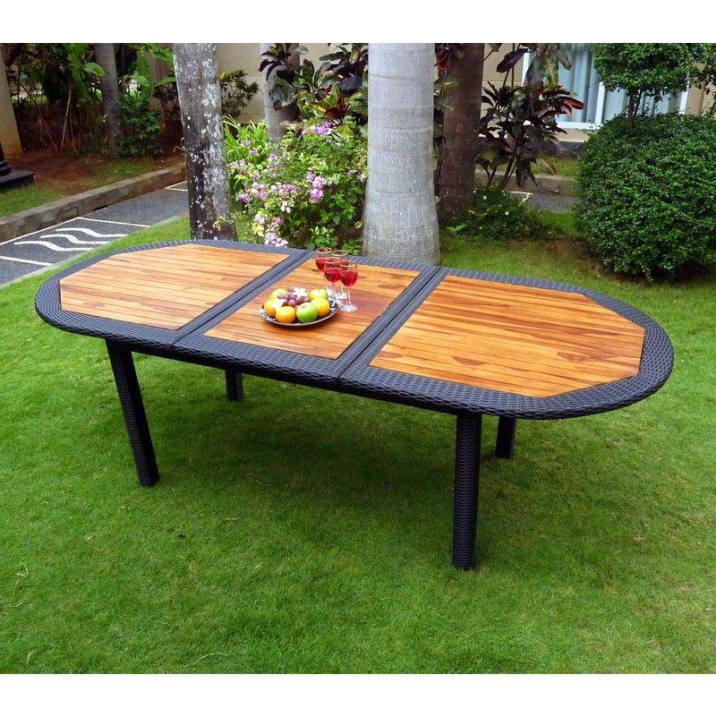 best table de jardin resine avec rallonge pictures | News to Go 2 ...