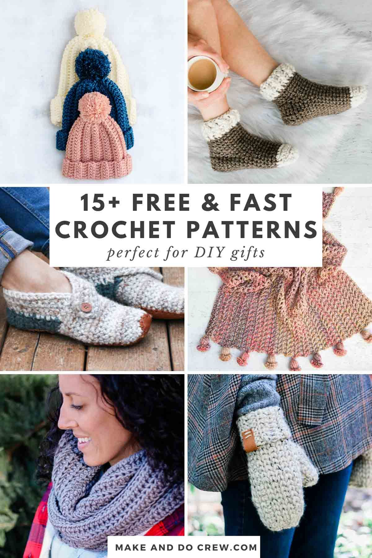 Fast Crochet Projects The Best Free