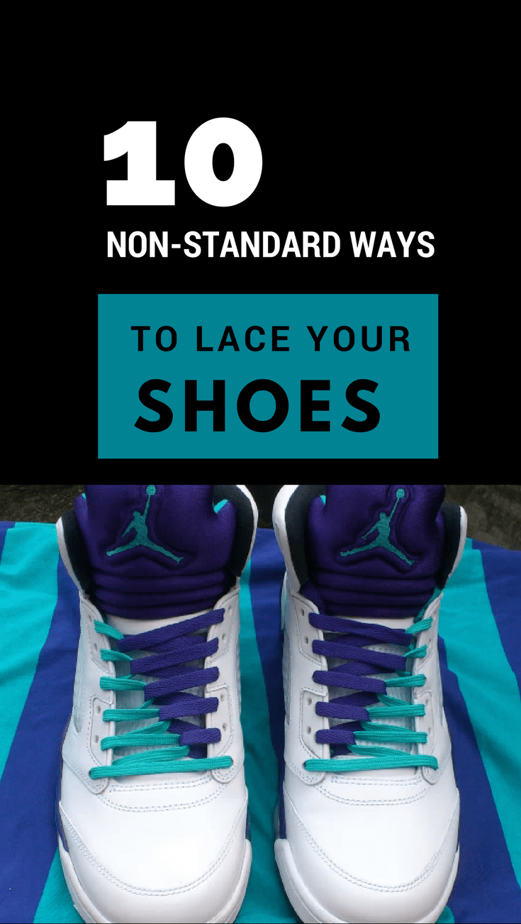 10 non standard ways to lace your shoes | Shoes without