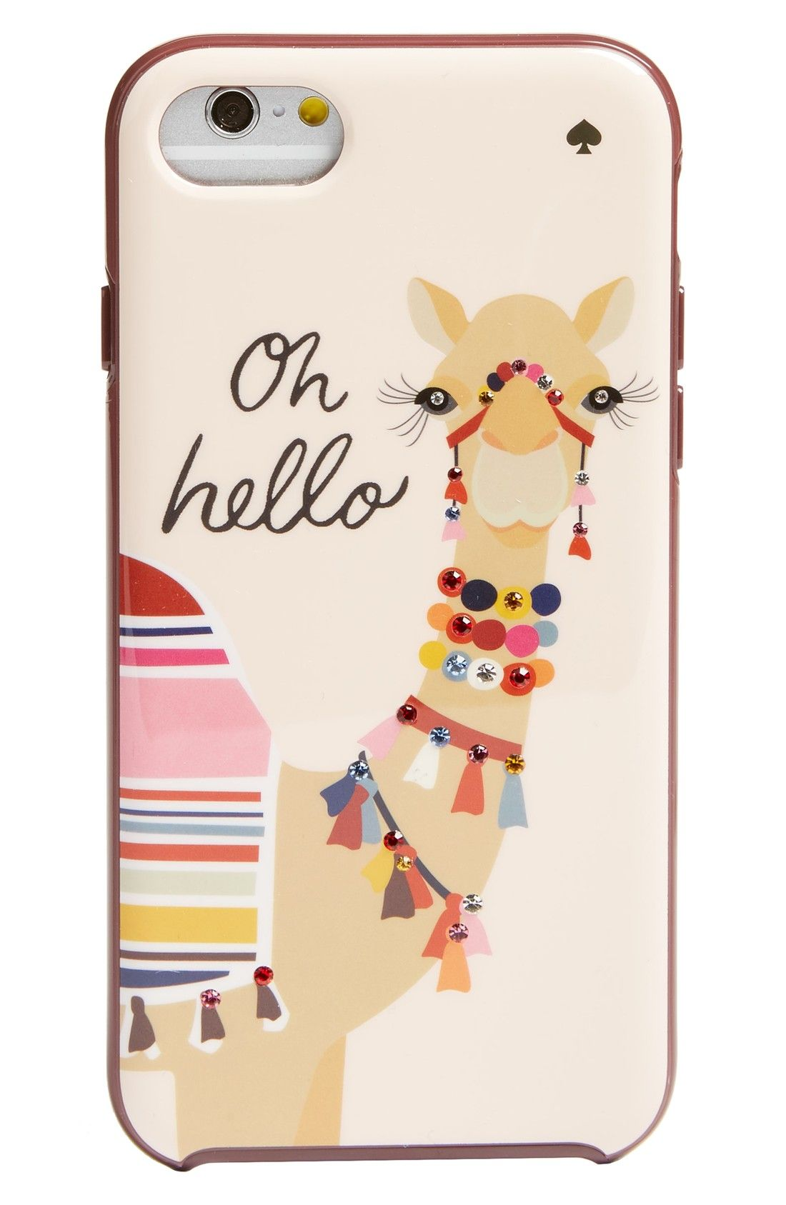 size 40 d2bfa c98c4 darling kate spade camel iphone 7 case | Fashion | Kate spade iphone ...