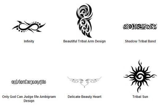 Tattoo tattoo pattern tribal tattoos freedom symbols for Freedom tribal tattoos