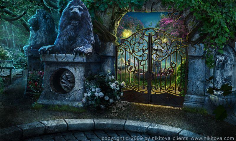 Sweeney Todd Gardens by kidy-kat.deviantart.com on @deviantART
