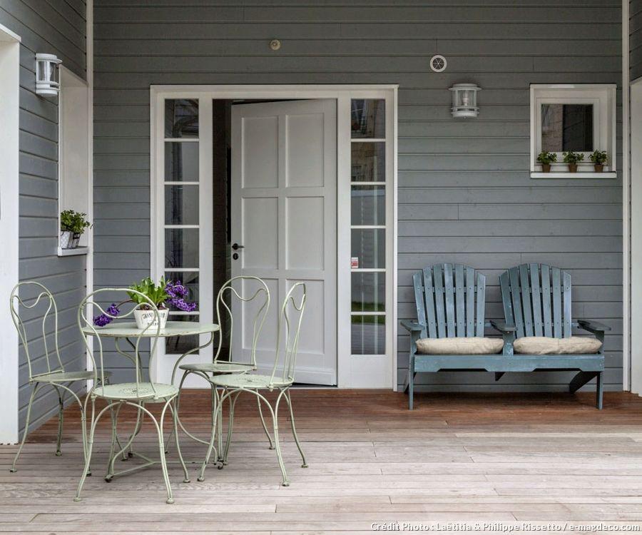 Une Maison Dans Le Pur Esprit Nantucket  Maisons De Bois Resum Et