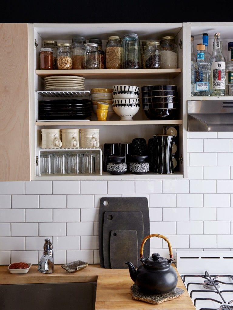 Doorless Cabinets Classy Kitchen Kitchen Remodel Small Kitchen Remodel