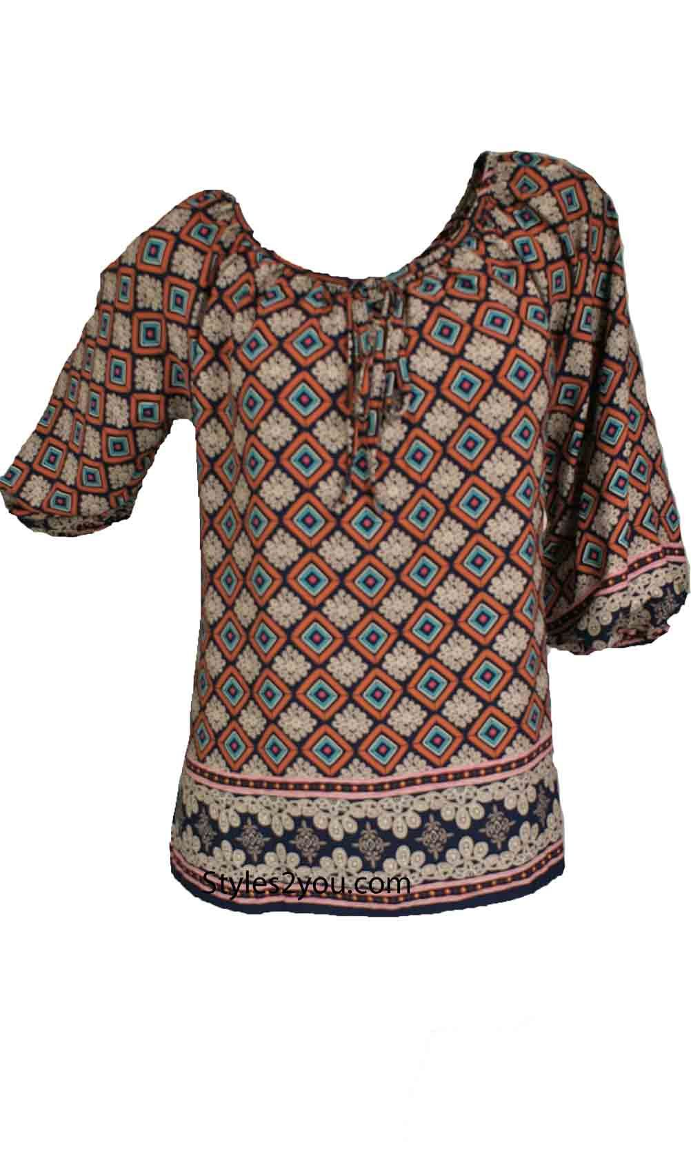 Jewels Bohemien Peasant Top #Vintage, #victorian, #unique, #lace, #boutique, #vintageinspired, #styles2you #love #collection #ideas #inspiration #holiday #ootd #women #fashionista #ootd #gifts #fall #collection #holiday #season #party #affordablefashion #crochet #shoponline #unique #festival #festive #celebrations #gifts #thanksgiving #christmas #hiddengemsofstyles2you