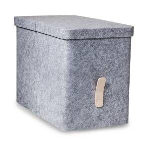 Felt Hanging File Storage Box   Modern By Dwell Magazine, Gray